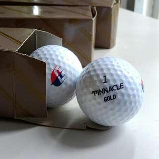 Pinnacle Gold Golf Balls (3pcs)
