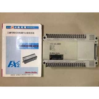 🚚 士林電機 PLC  AX2-48MR│附使用手冊