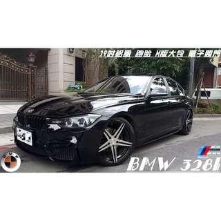 2012年 BMW 328 2.0(M版大包 電子閥門)  新車價241萬 19吋鋁圈 跑胎 降避震 電子閥門 M版大包