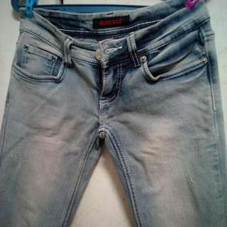 skinny pants. hipster 26-27 size fitted