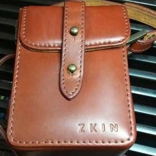 *NEW* Zkin camera/lens leather case