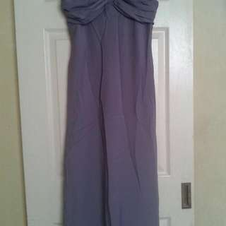 Purple Evening Gown Or Long Dress