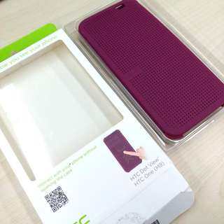 HTC M8 Case (100%NEW) Purple紫色