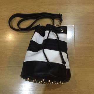Studded Bucket Bag (Alexander Wang Inspired)