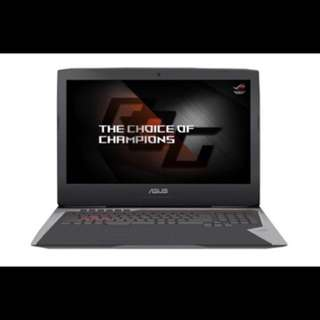 "ASUS 17.3"" ROG Core i7-7700HQ"