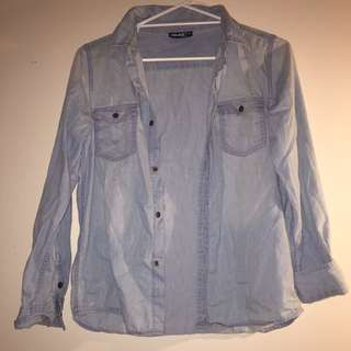 Women's Denim Look Shirt