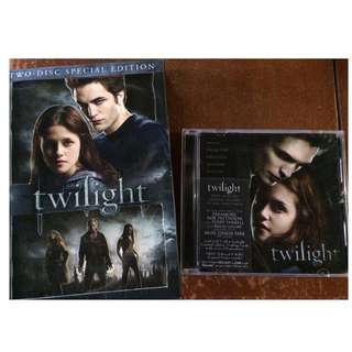 Twilight Movie CD and Soundtrack (all for 300)