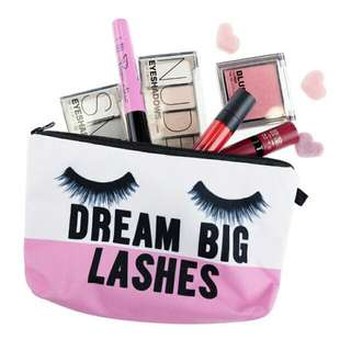 Dream Big Lashes Cosmetic Pouch