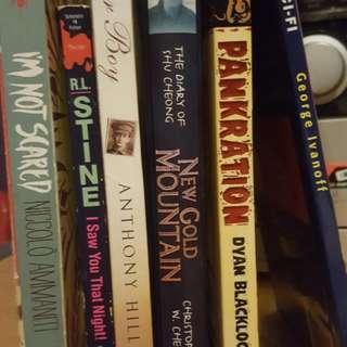 Assorted Books & Novels