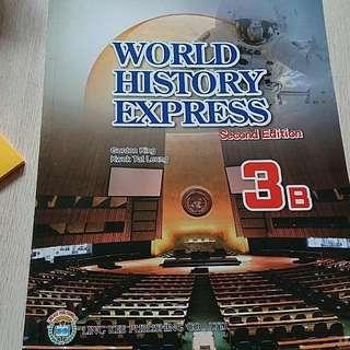 World history express second edition 3B