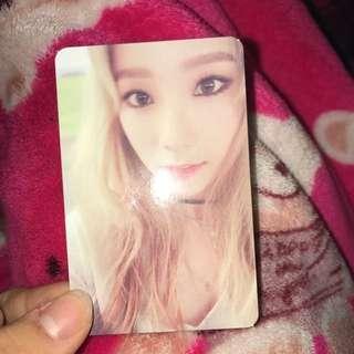 Taeyeon 'I' Photocard