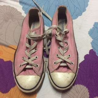 Pink Authentic Converse