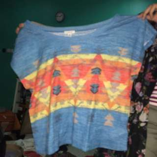 crop tribal by forever21