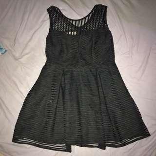 GTW BLACK BARBIE DRESS