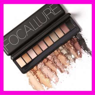 10Pcs Makeup Palette Natural Eye Makeup Light Eye Shadow