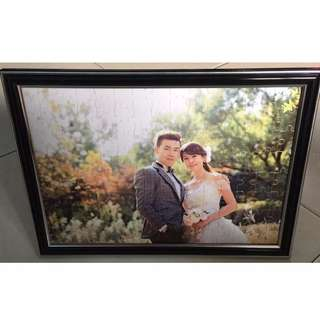 Customized Photo Puzzle with Frame Or Stand