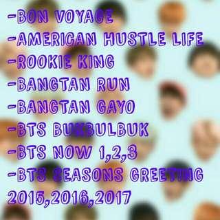 BURN DVD (BTS REALITY SHOW)