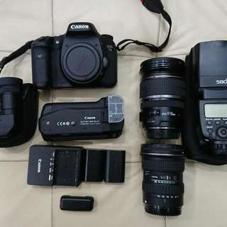 Canon 專業單眼相機組 可分買
