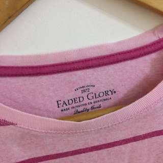 Pink Stipped Tee