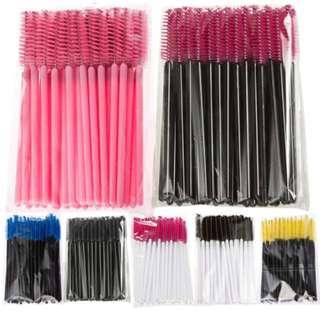 50 Disposable Mascara Brushes