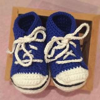 👶🏻 鞋-人手鉤織Converse款