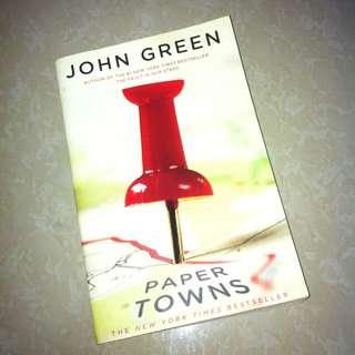 JOHN GREEN NOVEL