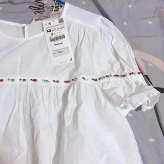 🚚 Zara Trf 系列 彩色排鑽 娃娃裝