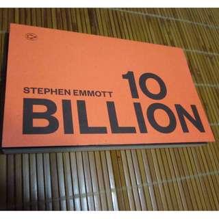 🚚 10 billion (絕版, 英文原文書) #氣候變遷 #好書新感動