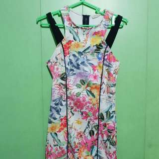 Bershka Floral Dress
