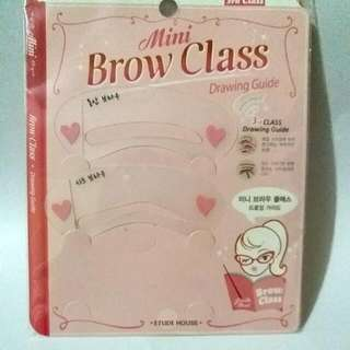 Etude House Mini Brow Class (Drawing Guide)