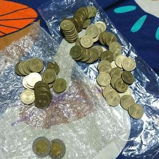 81-82-85-86年50元小金幣錢幣硬幣