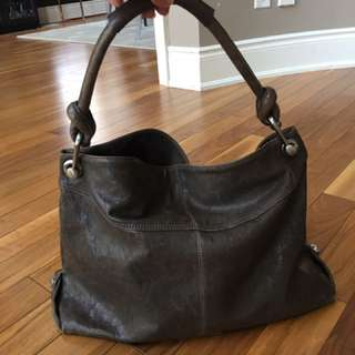 BCBG Vintage Style Hobo Shoulder Bag