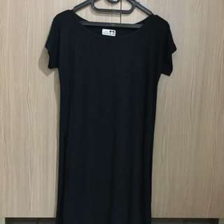 long shirt black