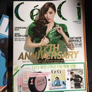 💓少女時代Jessica Ceci 封面 韓國雜誌