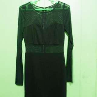 Forever 21 Mesh Dress