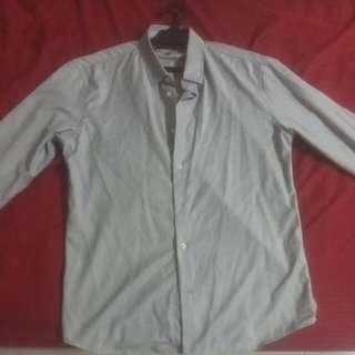 Silver/Grey High Cultured Men's shirt