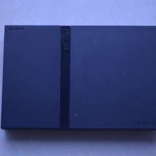 PLAYSTATION TWO CONSOLE ONLY - AS IS