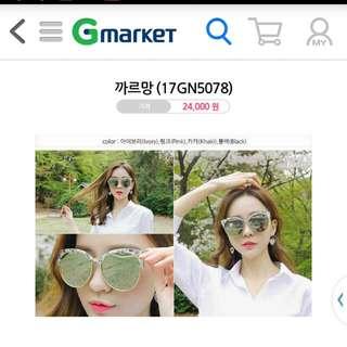 韓國直送太陽眼鏡2017年新款