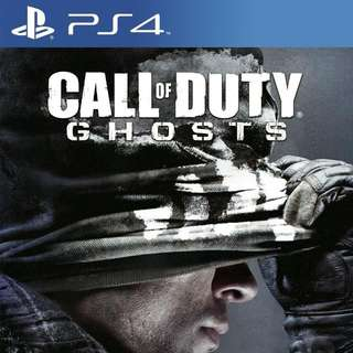 CALL OF DUTY GHOST PS4 PLAYSTATION 4