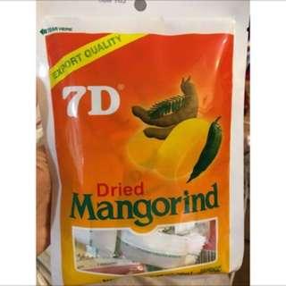 7D 軟糖 芒果 羅望子 Dried Mangorind 175g