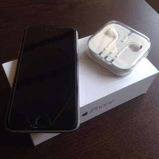 Preloved Iphone 6 Black 128 GB