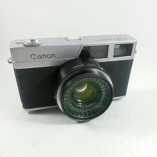 vintage retro canon canonet camera