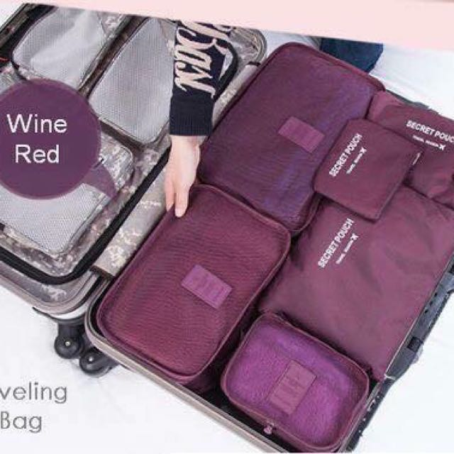 6 In 1 Traveling Bag