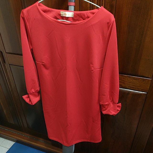 過年前出清便宜賣📣紅色小洋裝