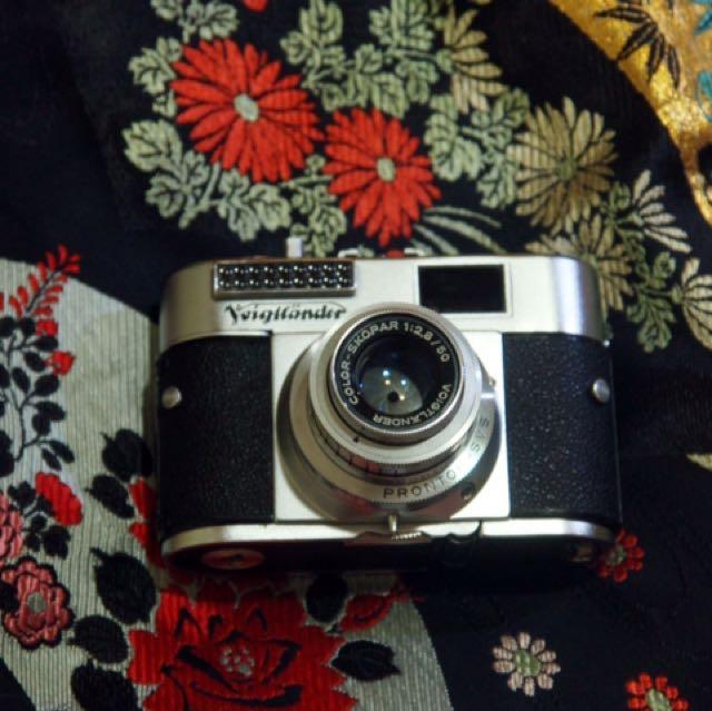 老相機 德製 福倫達 Vito Bl 底片相機