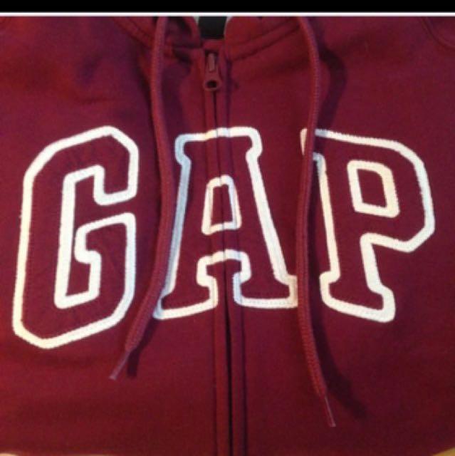 降價 gap酒紅外套 M號 美國購入