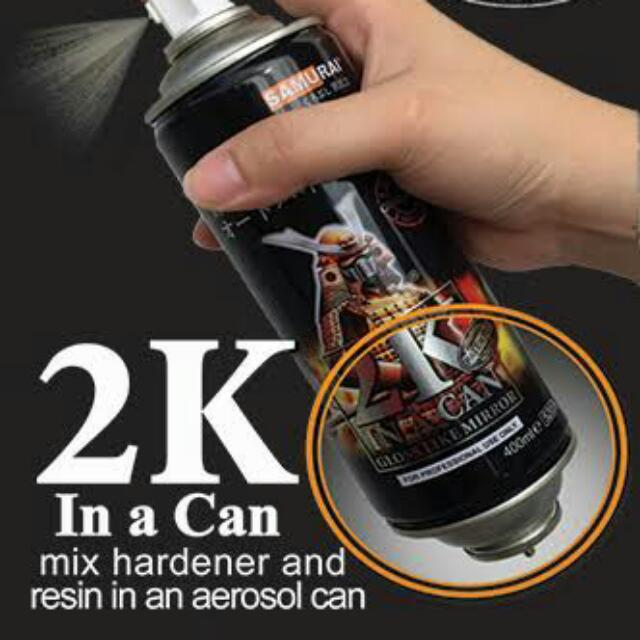 Cheapest In Carousell! Samurai Paint And 2K Clear Coat