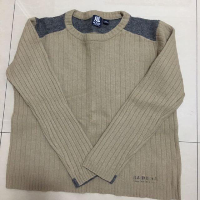 A&D男生毛衣