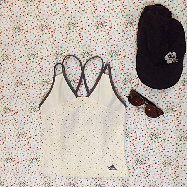 ADIDAS ATHLETIC TOP