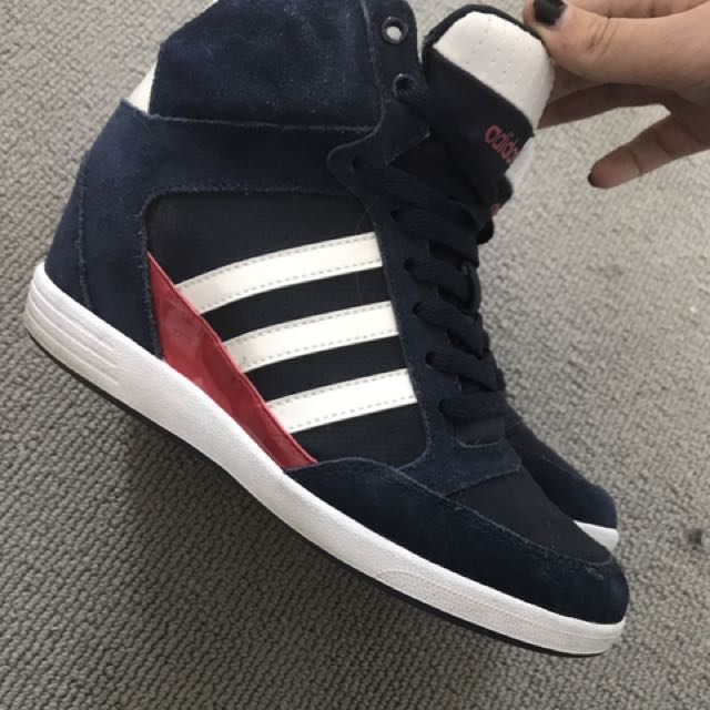 Adidas Neo sneaker Wedge (size 6.5 Could Fit 7)